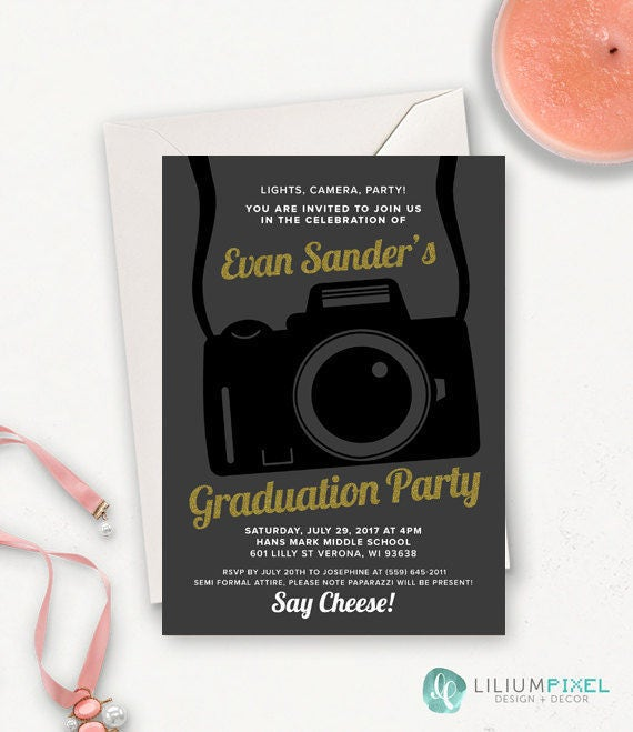 College graduation invitation template graduation party etsy filmwisefo