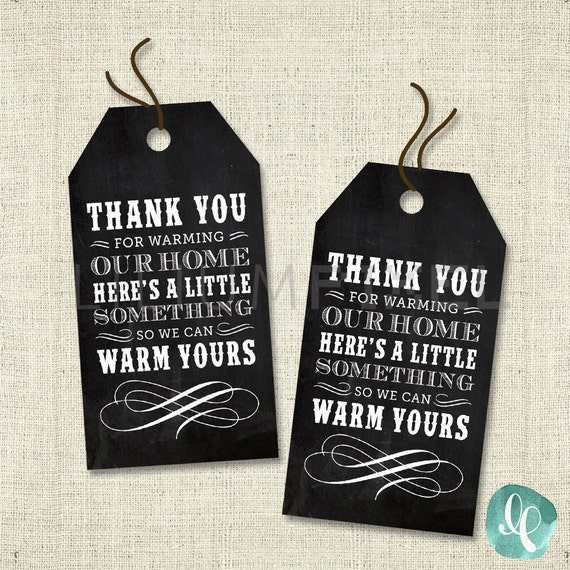housewarming party favor tag housewarming party invitation etsy