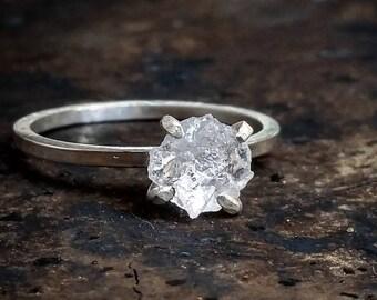 Items Similar To Rose Quartz Ring Raw Quartz Ring Raw Crystal