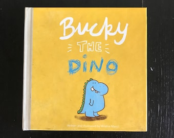 Bucky The Dino Children's Picture Book Pre-Order