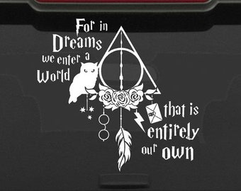 Personnalisé Serdaigle harry potter Dream Catcher