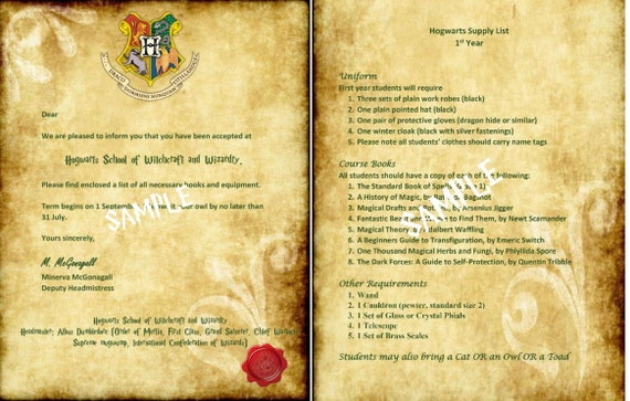 photo relating to Printable Hogwarts Letter identified as Editable Hogwarts Attractiveness Letter/Envelope - Standing, Day, Cover; both of those white and parchment sets; Electronic down load; absolutely free HP font zip report!