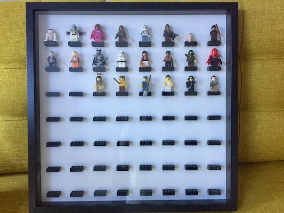 Figurine Lego Vitrine Minifig Star Wars Disney Etsy