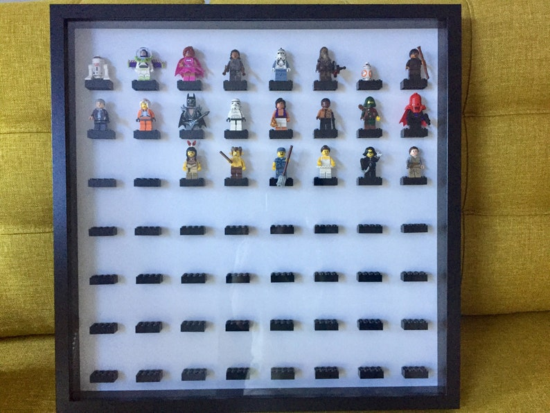 Lego Minifigure Display Case Frame Star Wars The Return of the Jedi