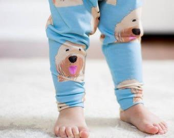 f98f0eff59a90 Handmade Baby Leggings - Goldendoodle Baby Leggings - Goldendoodle - Baby  Leggings - Boy Leggings- Girl Leggings - Toddler Leggings -