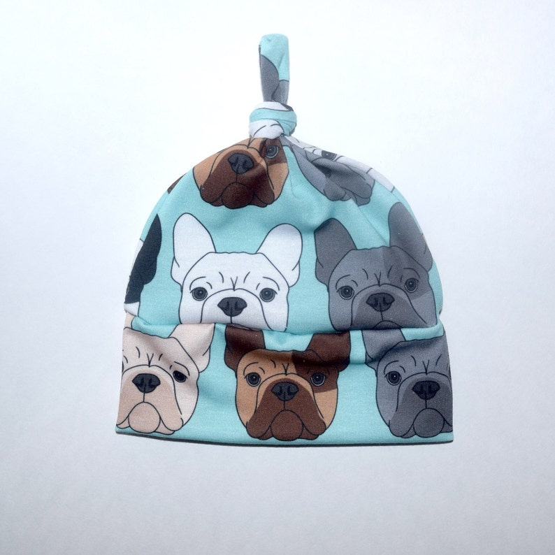 e98fc461c40 Handmade French Bulldog Newborn Hat Bulldog Lover Going