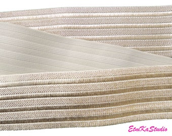 1.5 38mm Wide Gold Glitter Khaki Elastic Band by the Yard Elastic Trim Waistband Elastic,Elastic Ribbon,Sewing Elsastic 31150