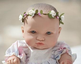 Couronne De Fleurs Pour Bebes Etsy