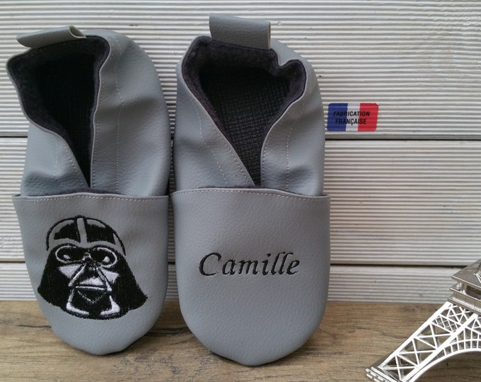starwars soft slippers, darkvador soft slippers