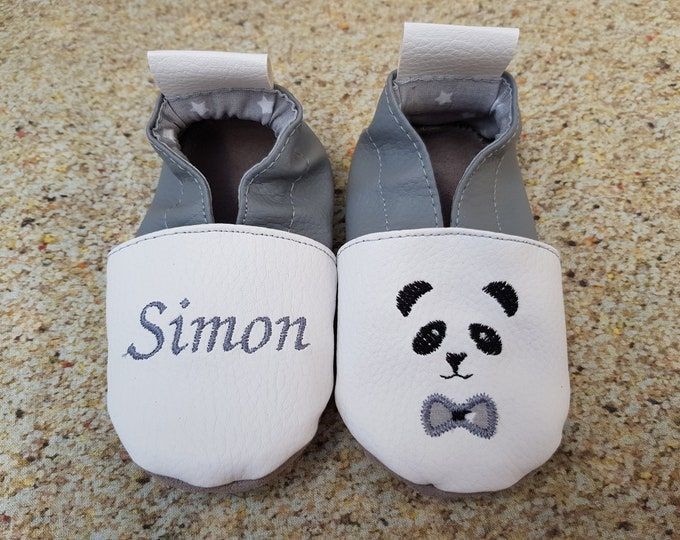 panda soft slippers