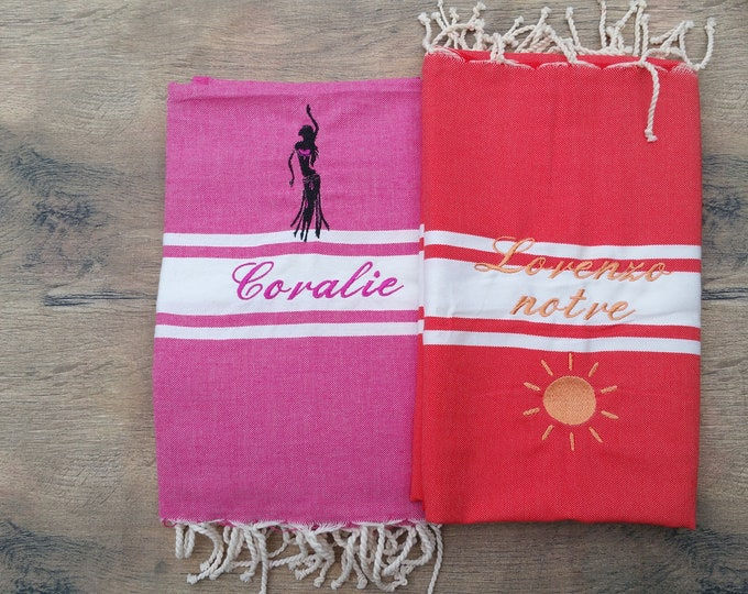 fouta towel, beach towel
