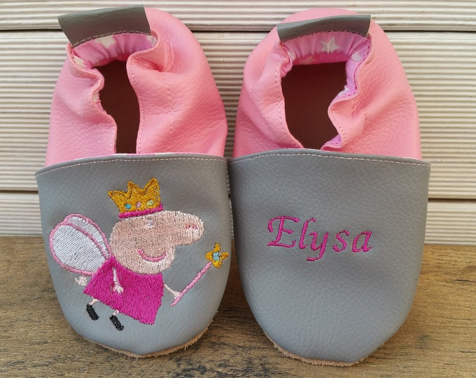 peppa pig soft slippers