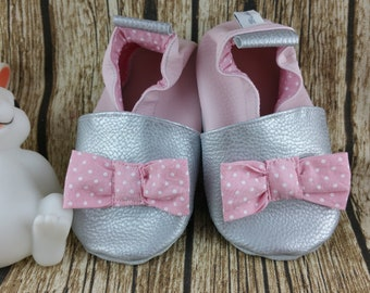 Slippers soft leather, leatherette, baby, boy, girl, child slipper shoe slipper shoe, slipper personalized