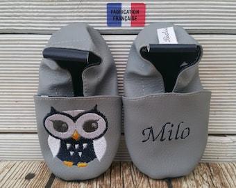 owl soft slippers, soft slippers owl