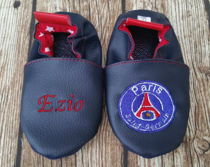psg slippers, psg soft slippers, leather slippers