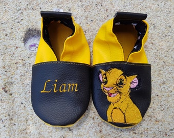 lion king slippers, simba slippers
