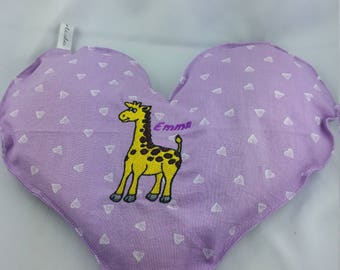 "Heating pad dry, water bottle ""Calicho"", water bottle cloud, heating pad, heating giraffe custom hot/cold"