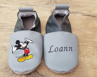 mickey soft slippers, mickeymouse soft slippers