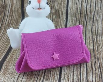 Leather-like wallet, woman's wallet, wallet, Christmas gift, custom wallet