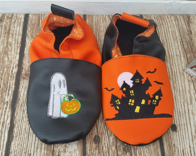 halloween slippers, ghost slippers