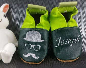 Mustache slippers, hat slippers, glasses slippers, soft slippers