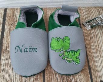 Dinosaur soft slippers