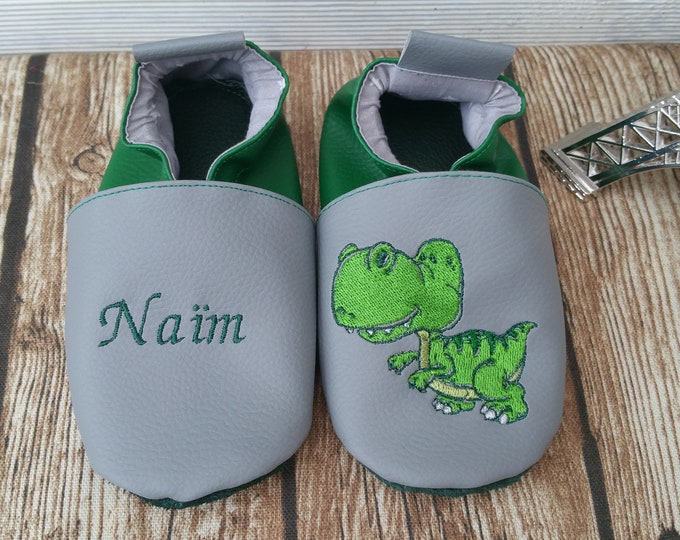 Dinosaur soft slippers
