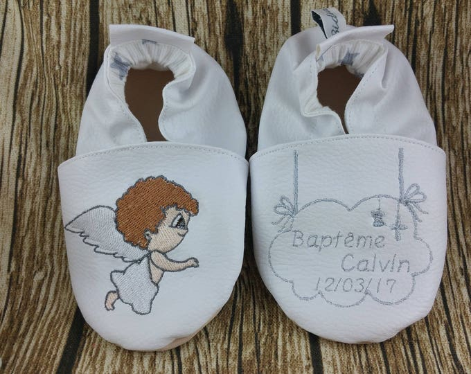 Soft angel slippers to customize