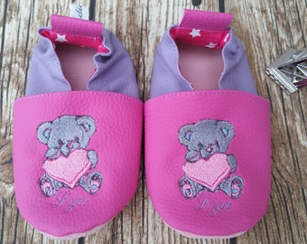 bear soft slippers,