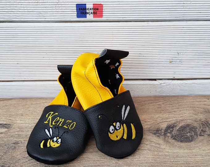 bee soft slippers, soft slippers,