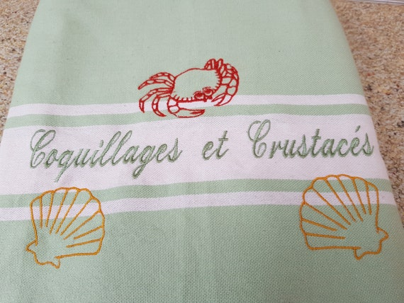 Fouta embroidered, fouta, beach towel, custom fouta, embroidered beach towel, personalized