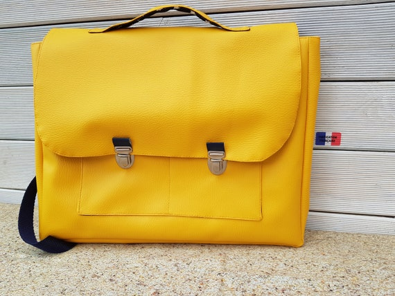 School bag, school bag, kindergarten, faux leather, custom