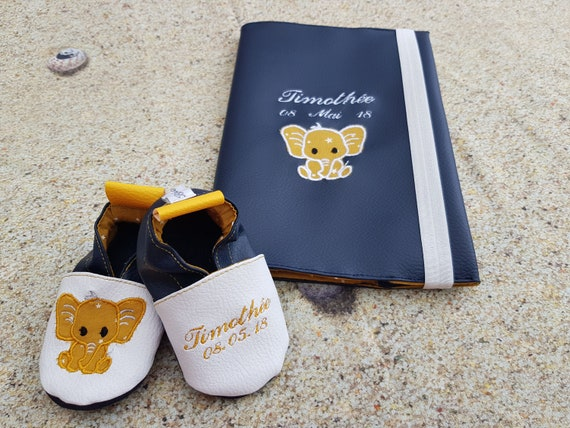 Birth list : including soft slippers & health book protect