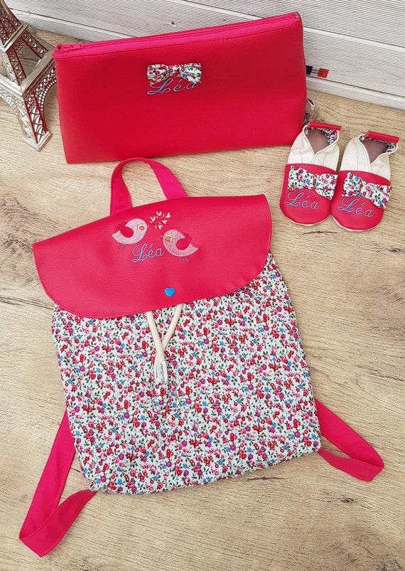 Birth gift, birth pack, birth list, soft slippers, backpack and toiletry kit