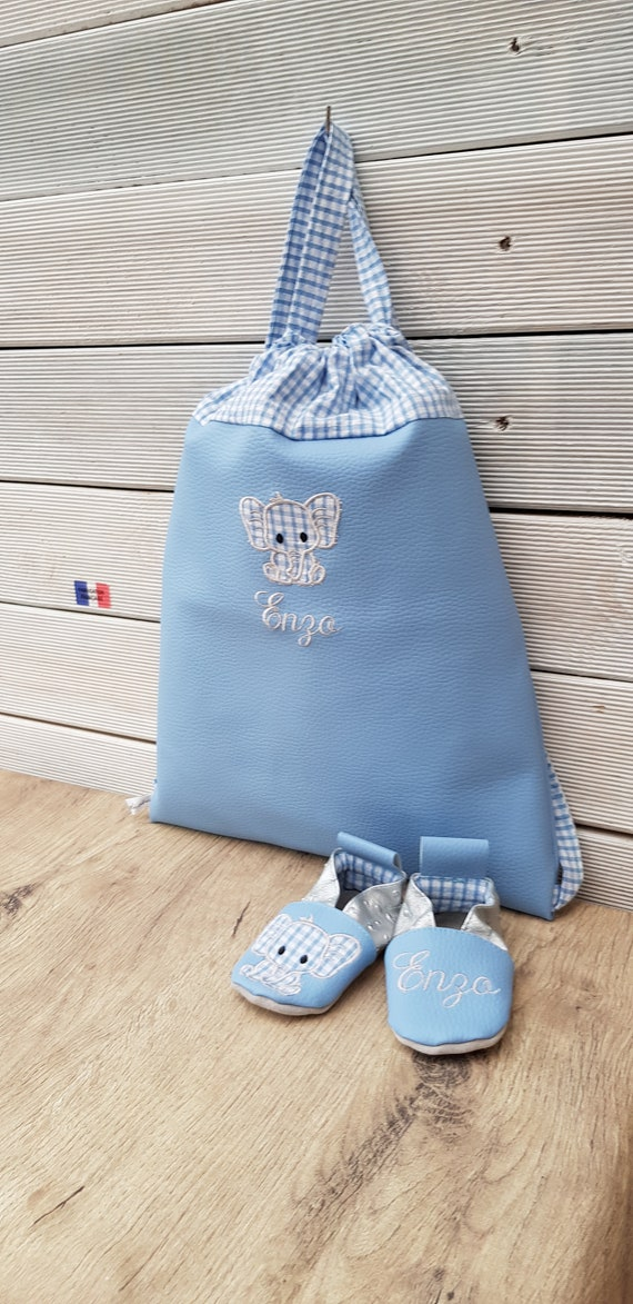 Backpack nursery/kindergarten and slippers order Angy