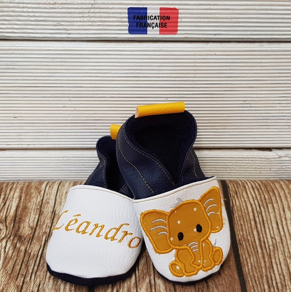 Embroidered soft slippers, triskel soft slippers