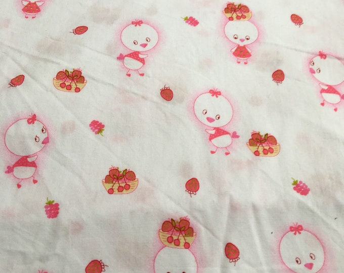Cotton fabric chick