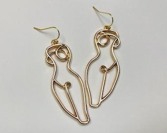 feminist earrings