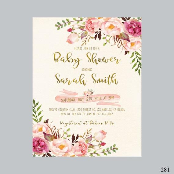 Bohemian baby shower invite boho baby shower invitation etsy image 0 filmwisefo