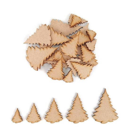 Mdf Snowflake craft shapes.Christmas tree decoration blank