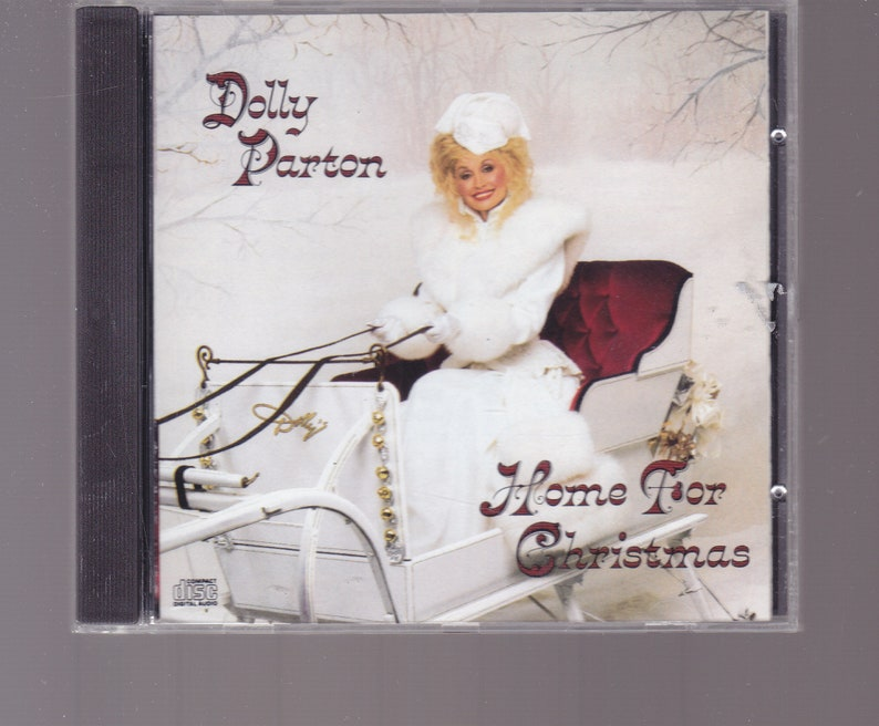 Dolly Parton Christmas Album.Dolly Parton Christmas Cd Home For Christmas 1990
