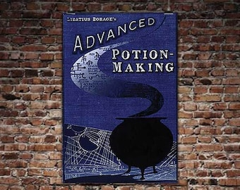 picture relating to Advanced Potion Making Printable referred to as Potion developing Etsy