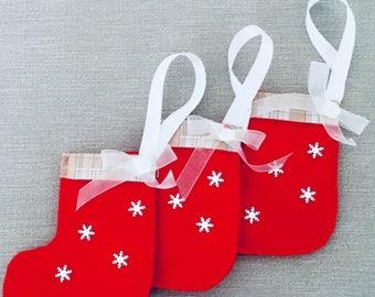 Christmas Tree Stocking Decorations