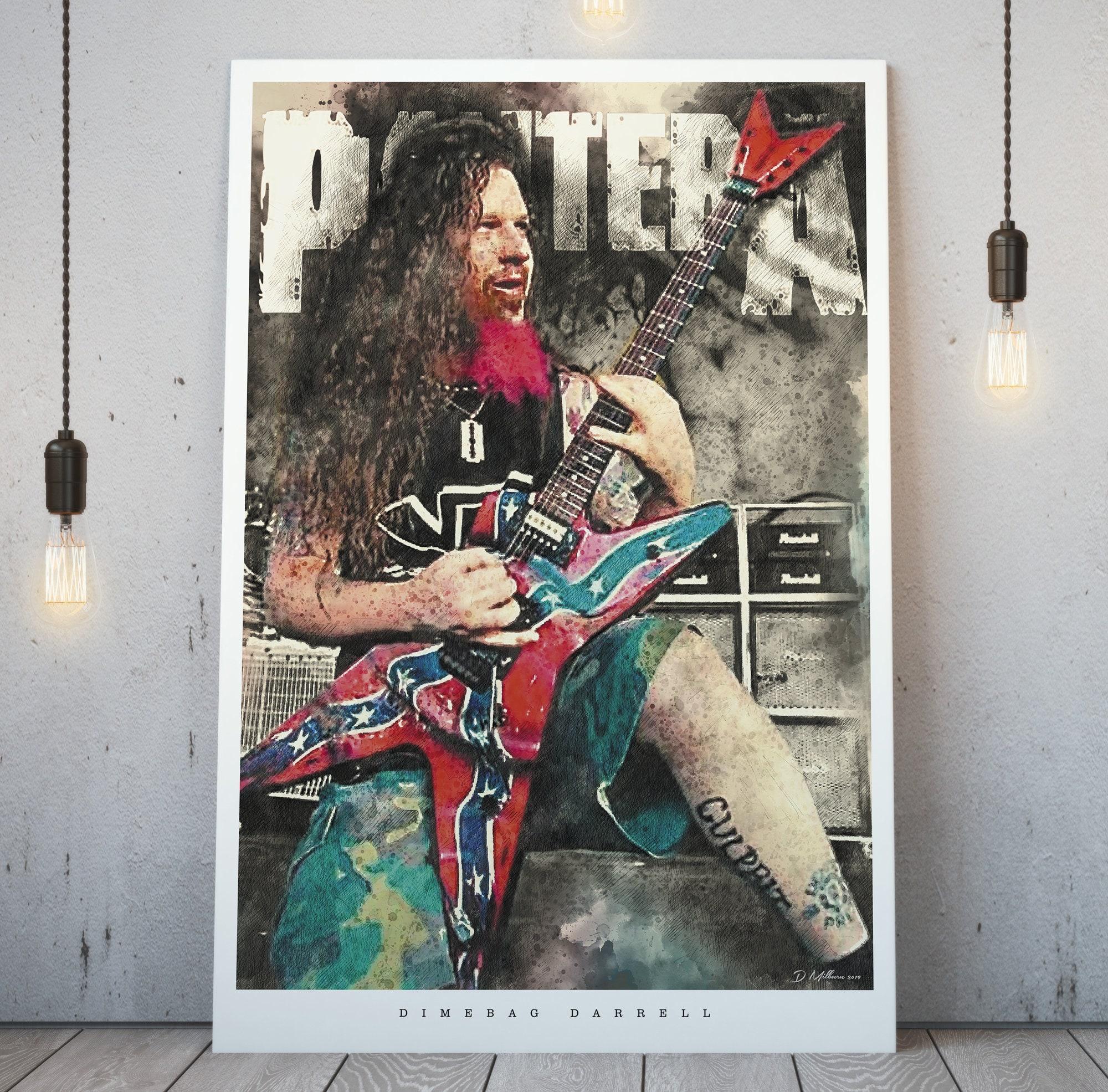 A4 A3 A2 A1 A0| Eric Clapton Digital Art Music Poster Print T1346