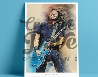 dave grohl print
