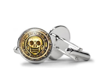 Skull Cufflinks PM-004