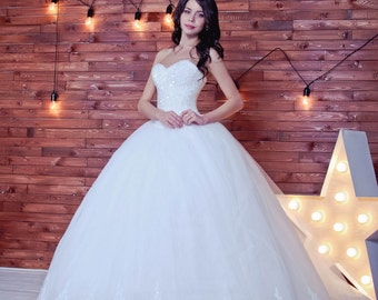 6d10a657ae Ball gown wedding dress