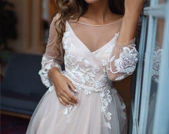Floral Bride Dresses