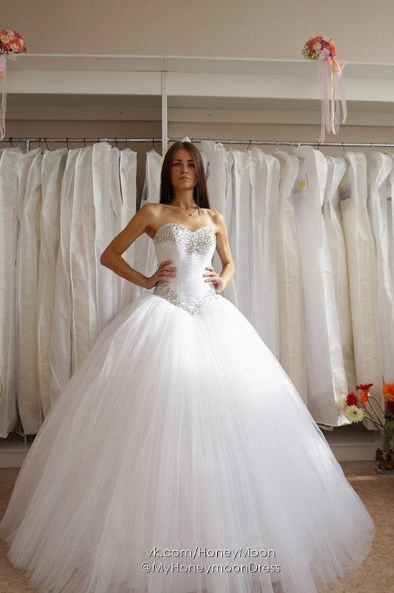 Diamond wedding dress beading wedding dress stones wedding | Etsy