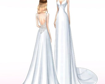 Сustom dress for Mirijam